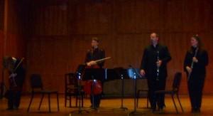 Bessarabica performance, Longy School, Cambridge, MA ~ Karen Oosterbaan-violin, Daniel Plane-'cello, Todd Brunel-clarinet, Trisha Craig–flute.