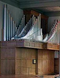 The Konzelman pipe organ, St. Anne Church, Rochester, NY.
